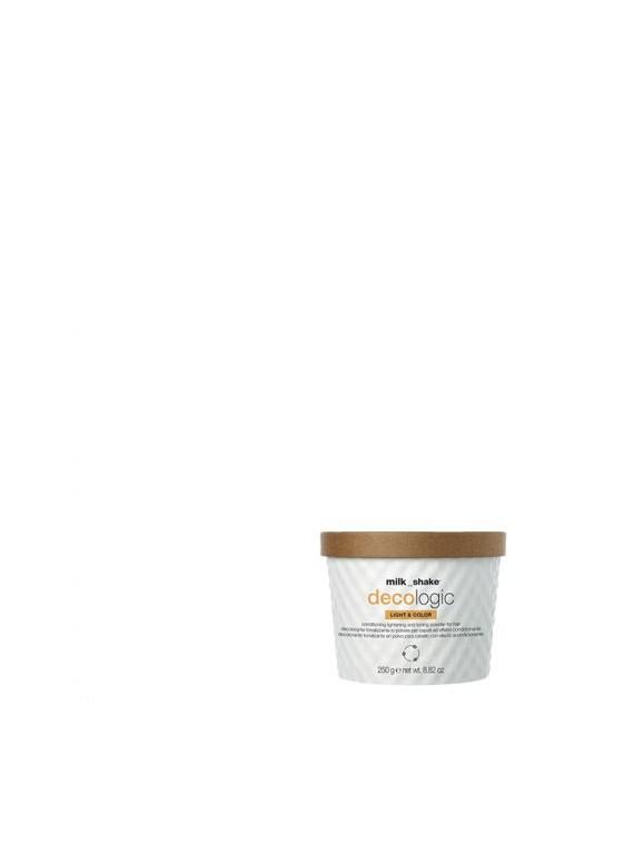 light & color decolorante tonalizzante in polvere per capelli ad effetto condizionante milkshake