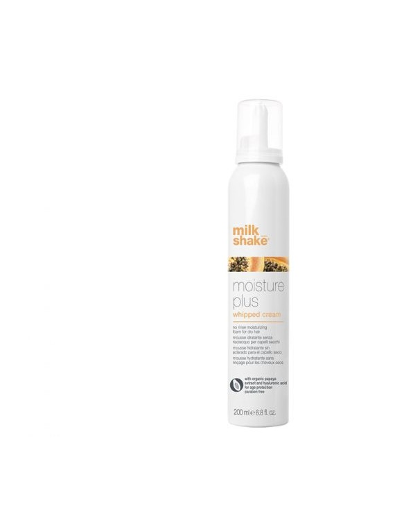 moisture plus whipped cream Mousse idratante senza risciacquo per capelli secchi milkshake
