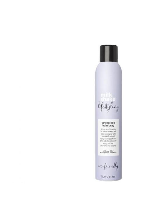 strong eco hairspray lacca ecologica forte per capelli colorati